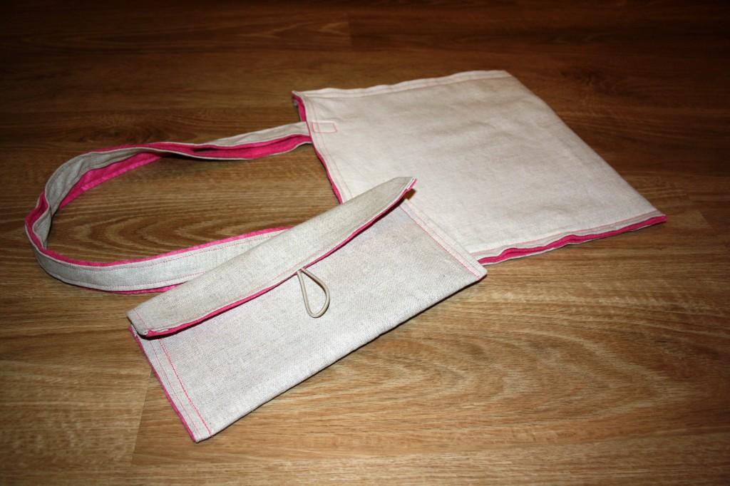 Taška na drobnosti - velikost tak na složené noviny a malá na všechno co na podzim potřebujete.